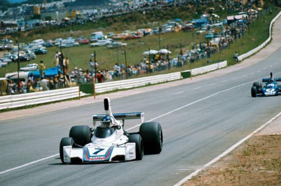 Reutemann en Kyalami en Sudáfrica