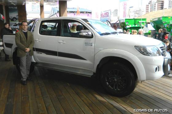 Gustavo Salinas de Toyota