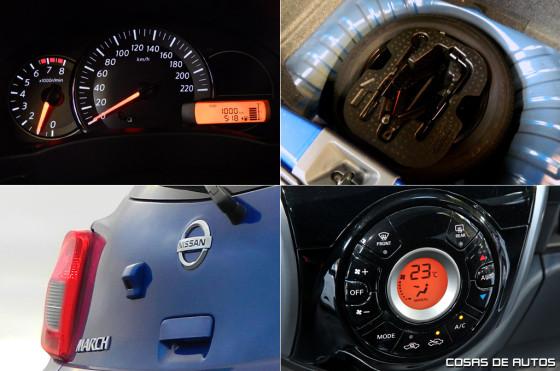 Test del Nissan March - Foto: Cosas de Autos