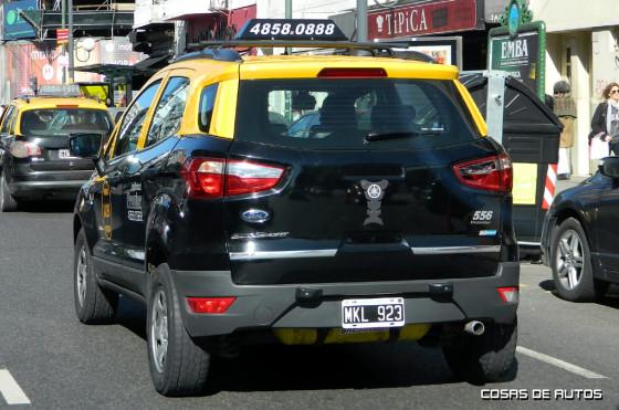 Ford EcoSport sin auxilio externo en Argentina - Foto: Cosas de Autos
