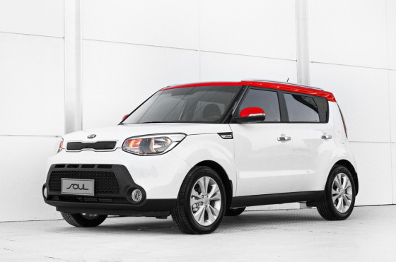 Kia Soul bi-color