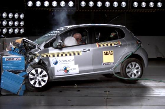 Latin NCAP: los resultados de la Fase V donde se destacó el Peugeot 208