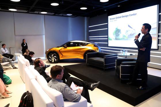 Taro Ueda, vice-presidente del Centro de Diseño de Nissan America.