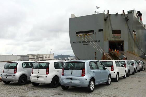 El VW up! se fabrica en Taubaté y se exporta a la Argentina