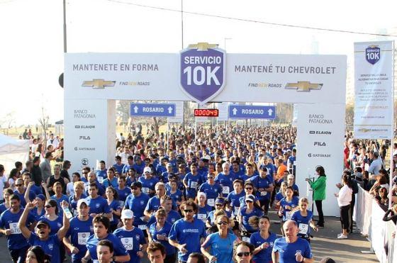 """El """"10K Servicio Chevrolet"""" se corre en Rosario por cuarto año consecutivo"""
