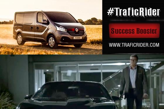 El auto fantástico, más vigente que nunca: Renault y Samsung lo homenajean