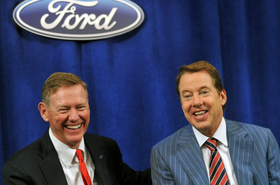 Alan Mulally y Bill Ford