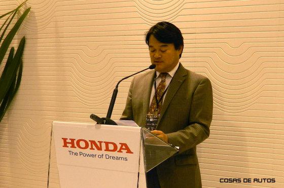 El presidente de Honda Motor Argentina, Hideki Kamiyama.