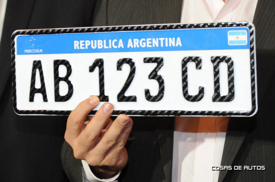 La nueva patente Mercosur entrará en vigencia en 2016 pero en Argentina arranca en 2015