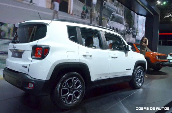Jeep Renegade en el Salón de Pablo 2014