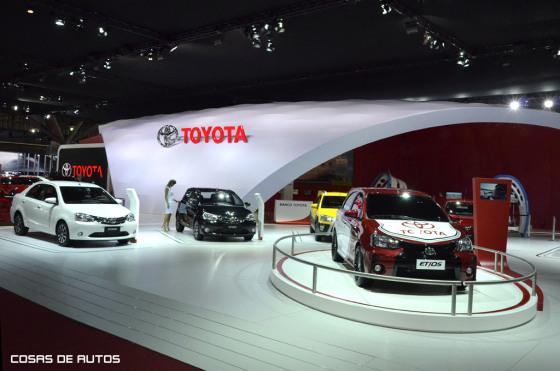 Stand de Toyota en el Salón de San Pablo 2014