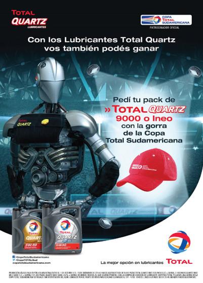 Promo Total Quartz Copa Sudamericana