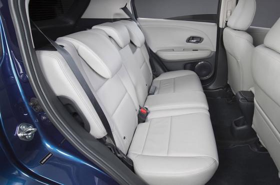 Interior de la Honda H-RV