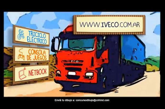 Iveco lanza su Segundo Concurso de Dibujo para niños
