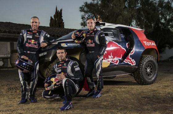 Con la presencia de Despres, Peugeot presentó el 2008 Dakar en Argentina