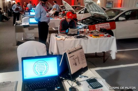 Toyota realizó una nueva edición del Concurso Nacional de Habilidades Técnicas y de Atención al Cliente