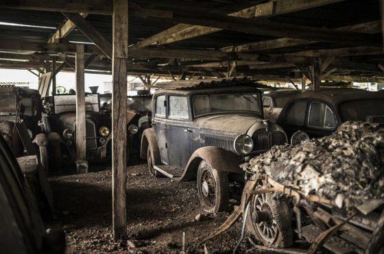 Colección de autos Roger Baillon - Foto: Artcurial