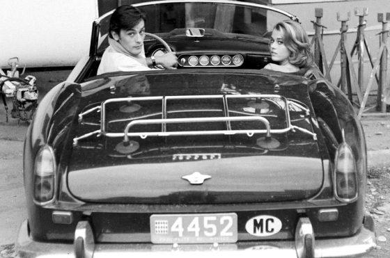 La Ferrari de Baillon con Delon y Fonda en 1964.