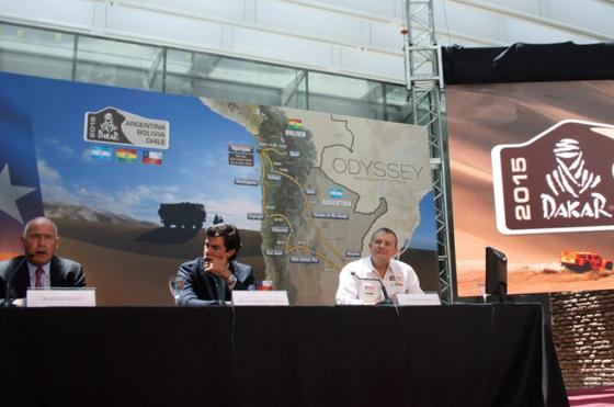 #Dakar: se presentó la edición 2015 que parte y termina en Argentina
