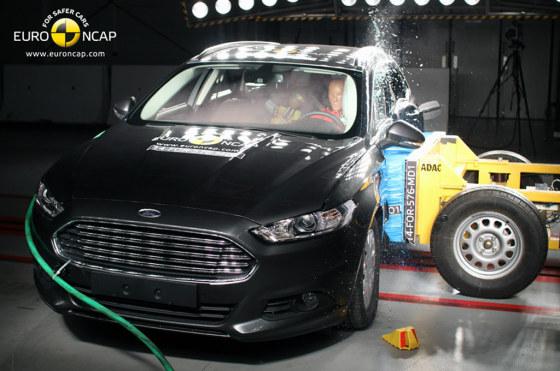Ford Mondeo SW ensayado por Euro NCAP
