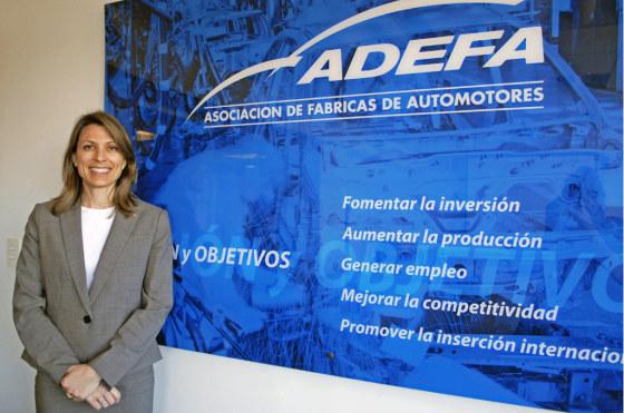 Isela Costantini es la presidenta de ADEFA