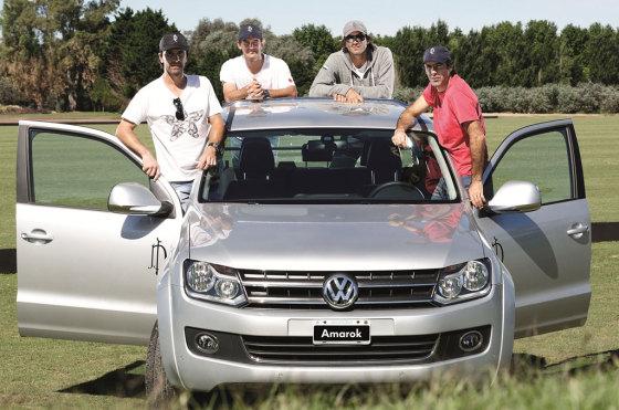 Autos y polo: La Dolfina Polo Team, con el apoyo de Amarok, conquistó la Triple Corona