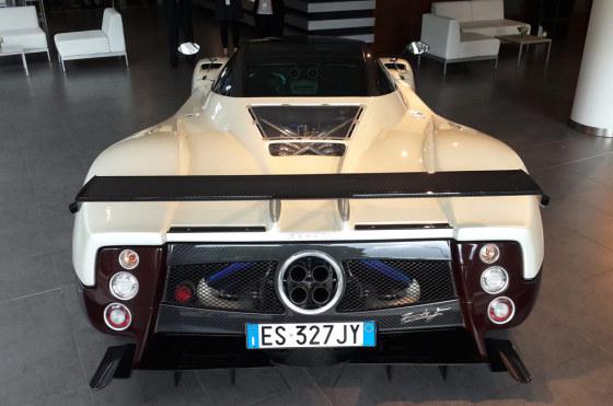 Mercedes-Benz exhibe por primera vez en Argentina el Pagani Zonda F