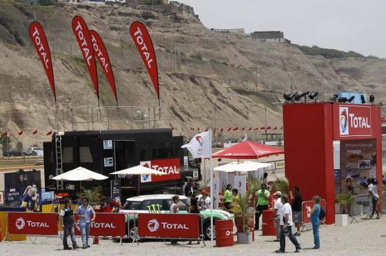 Total es nuevamente sponsor oficial del Dakar