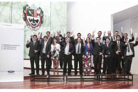 Posventa: Ford celebró con los graduados de su Programa de Gerenciamiento Profesional