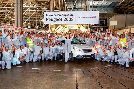 Peugeot inició la producción del 2008 en Brasil