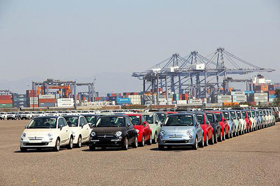 Fiat 500 llega importado desde México