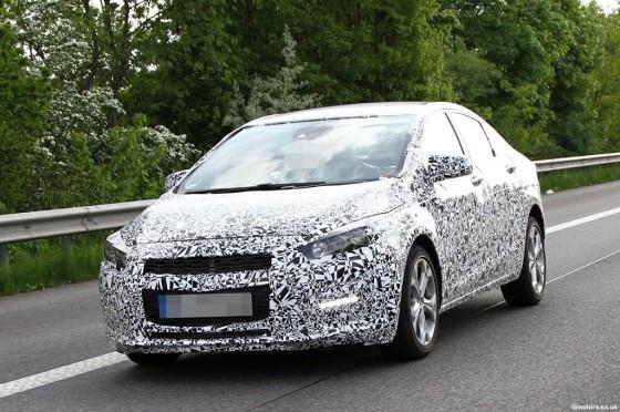 Nuevo Chevrolet Cruze en pruebas en Europa