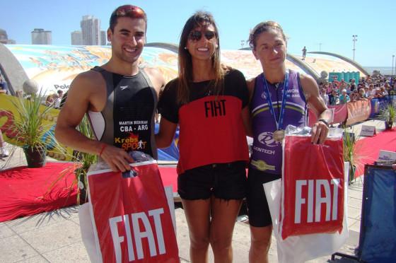 Fiat acompañó el Triatlón Olímpico de Mar del Plata 2015