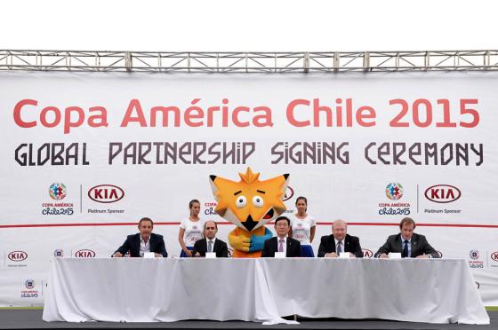 Kia será sponsor de la Copa América Chile 2015