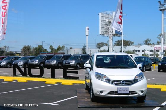 Lanzamiento del Nissan Note