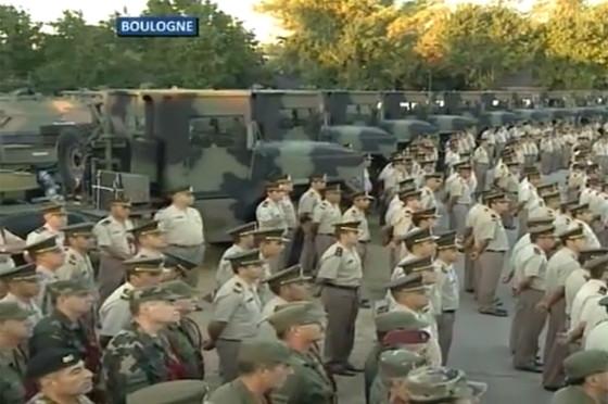 El gobierno renovó la movilidad del ejército y mostró los Hummer usados que compró hace 15 meses