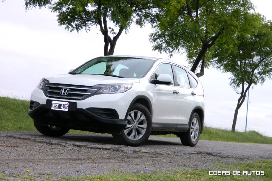 Test Honda CR-V 4x2 - Foto: Cosas de Autos