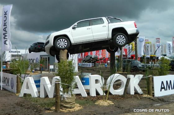 Stand de Volkswagen en ExpoAgro 2015