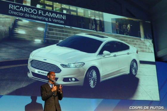 Ricardo Flammini, responsable de marketing y ventas de Ford Argentina
