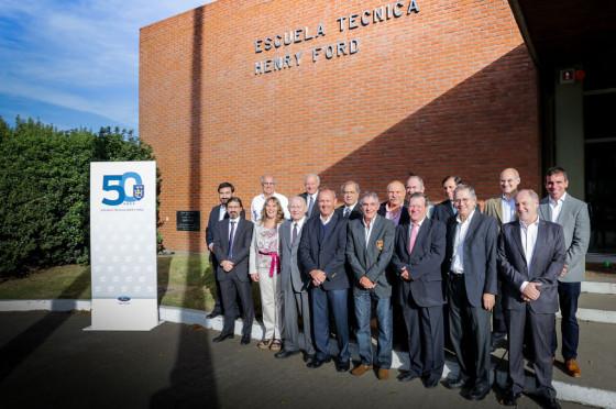 """Ford Argentina celebra el 50 aniversario de la Escuela Técnica """"Henry Ford"""""""