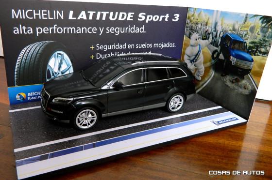 Michelin lanza Latitude Sport 3 en Argentina, el neumático de alto desempeño para SUV