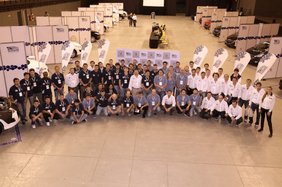 Olimpiada Nacional de Posventa de Peugeot Argentina 2015