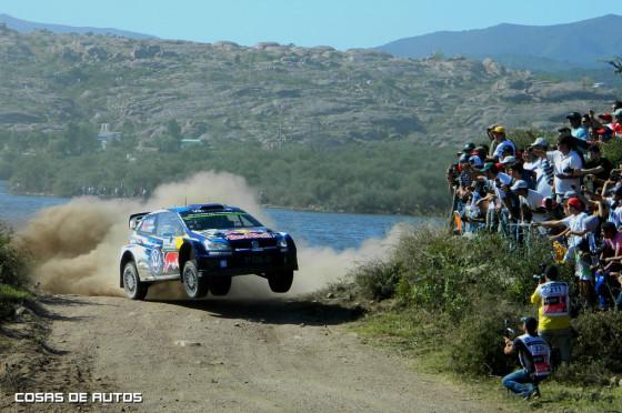 Ogier en el Rally de Argentina 2015