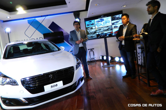 Workshop de diseño sobre el Nuevo Peugeot 508