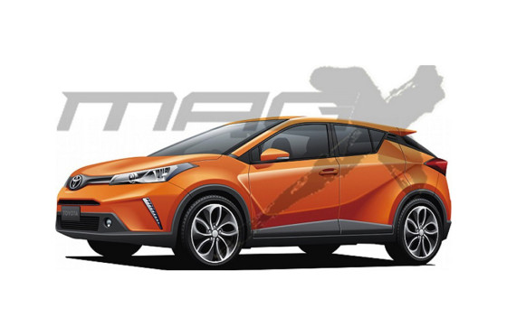 Toyota C-HR según Mag X (Japón)