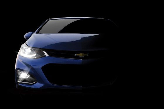 Chevrolet empezó a develar el Nuevo Cruze 2016: