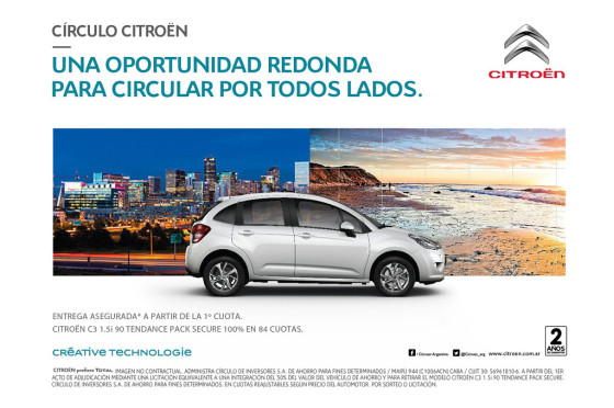 Círculo Citroën actualizó su Plan de Ahorro