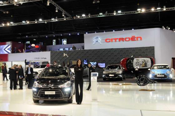 Stand de Citroën en el Salón de Buenos Aires 2013.