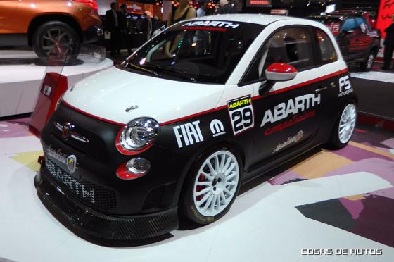 Fiat 500 Abarth Asseto Corse Evoluzione