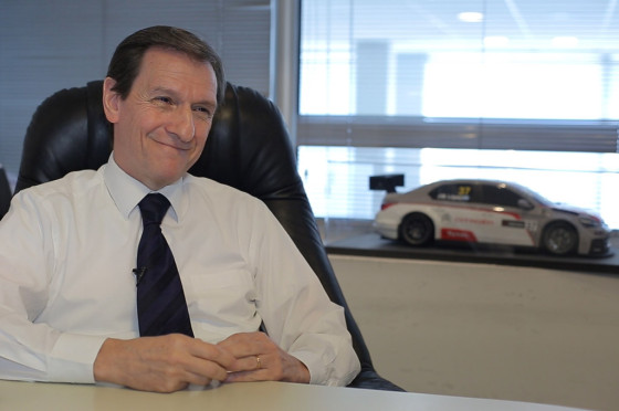 Osvaldo Marchesín, Director de Ventas de Citroën Argentina